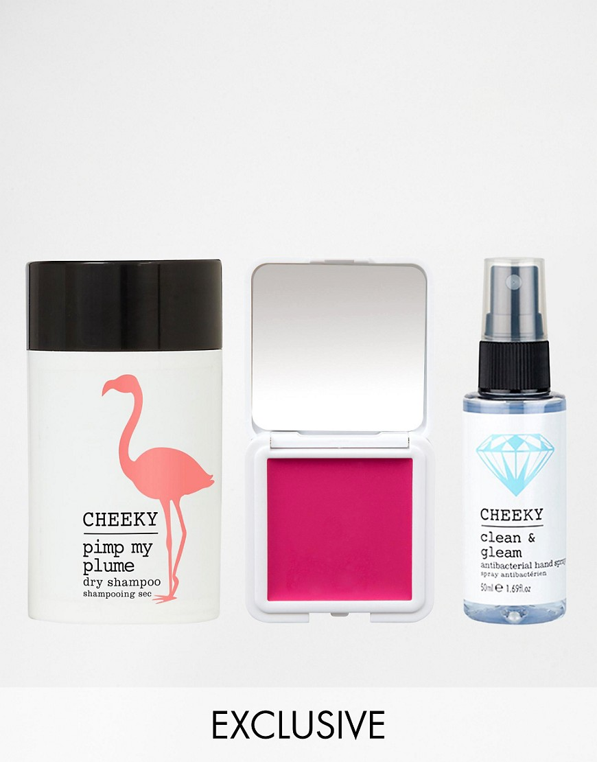 Image 1 of Cheeky ASOS Exclusive Festival Kit SAVE 26%