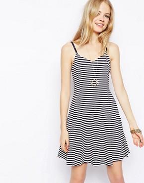 Image 1 ofASOS Sundress in Stripe