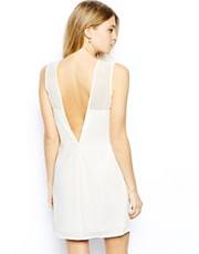Love Shift Dress with Deep V Back