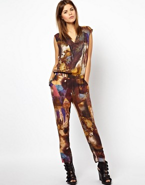 Image 1 of Diesel Patterned Jumpsuit