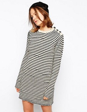 Image 1 of Zadig and Voltaire Knitted Dress in Stripe