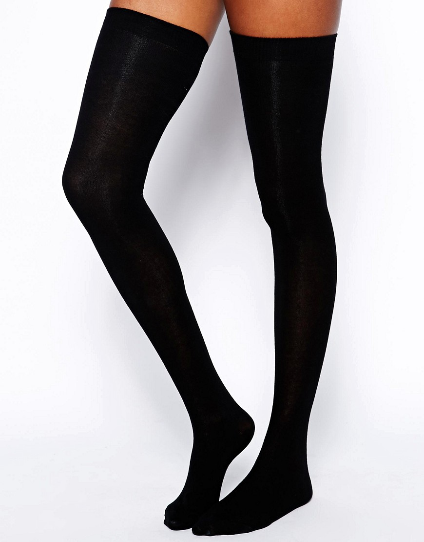 Image 1 of ASOS Thigh High Socks