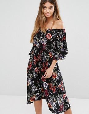 robe fleurs asos