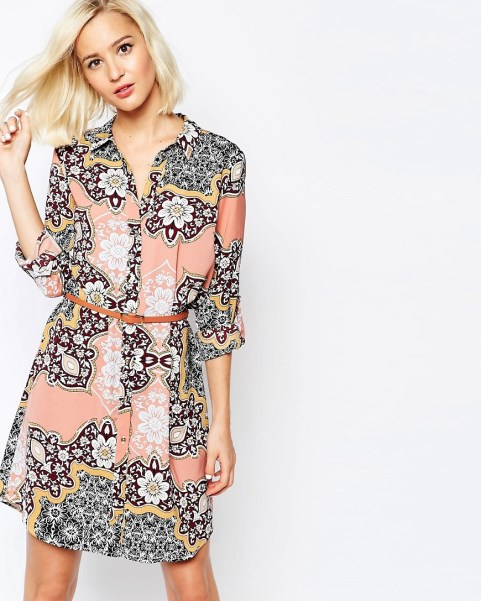 Paisley Print Shirt Dress by River Island £50 from ASOS