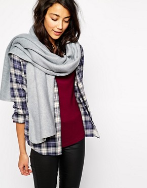 Image 1 of Esprit Oversized Blanket Stitch Scarf