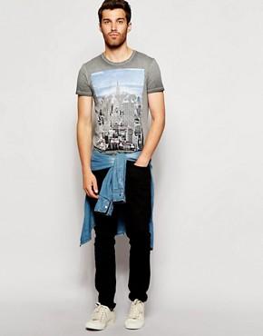 Imagen 4 de Camiseta con estampado New York de United Colors Of Benetton