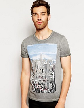 Imagen 1 de Camiseta con estampado New York de United Colors Of Benetton