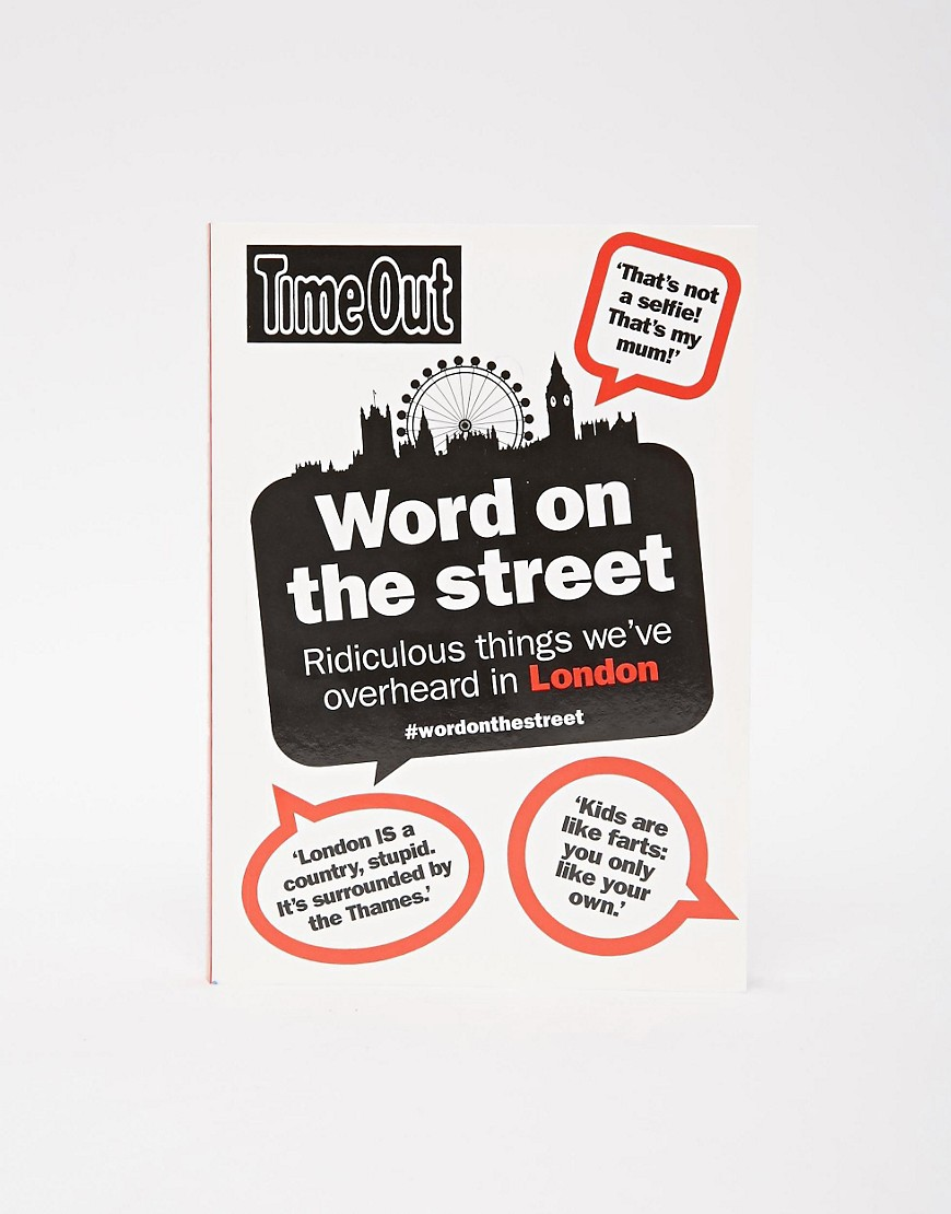 Image 1 of Word On The Street Book Unique And Quirky Gift Ideas Any Odd Person Will Appreciate (Fun Gifts!)