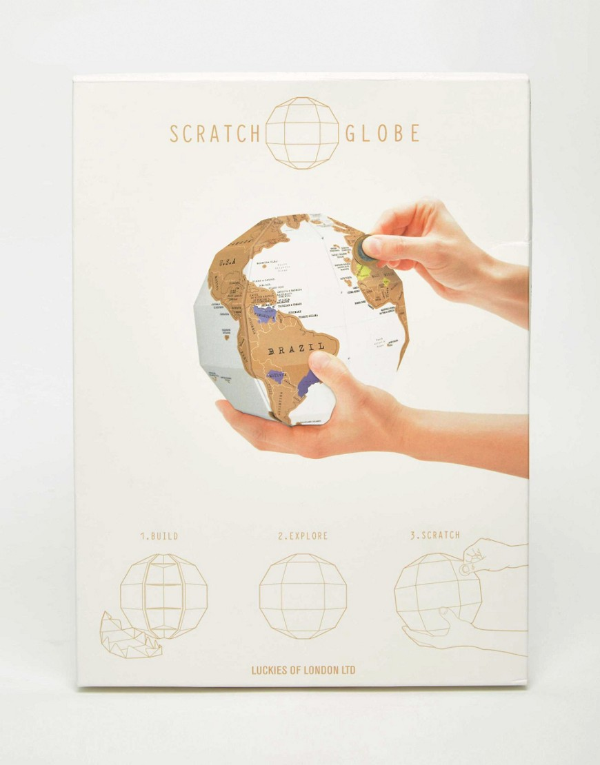 Luckies Scratch Globe Unique And Quirky Gift Ideas Any Odd Person Will Appreciate (Fun Gifts!)