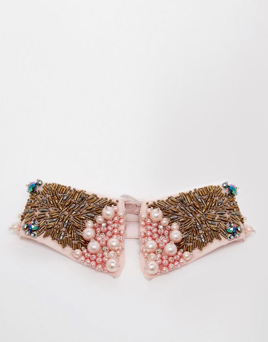Image 3 ofASOS Collar In Multi Embellishment