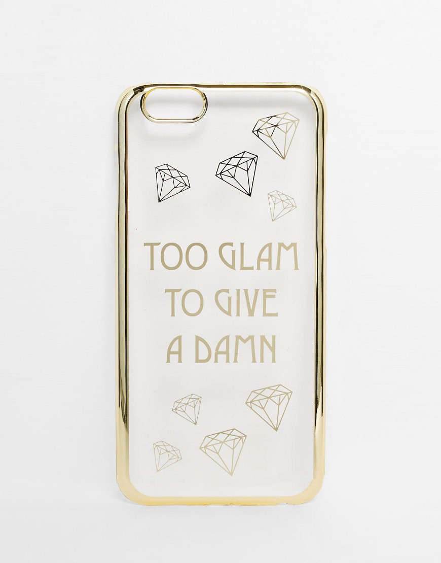 100 Cheap Thoughtful Gift Ideas For Her Under £20ASOS Too Glam To Give A Damn iPhone 5 Case