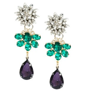 Image 1 of ASOS Flower Cluster Earring