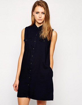 Image 1 of Cheap Monday Sleeveless Shirt Dress