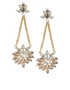 Image 1 of ASOS Swinging Chandelier Earring