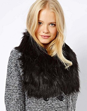 ASOS Faux Fur Short Collar