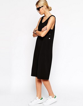 Image 1 of ASOS Jumpsuit With Button Side