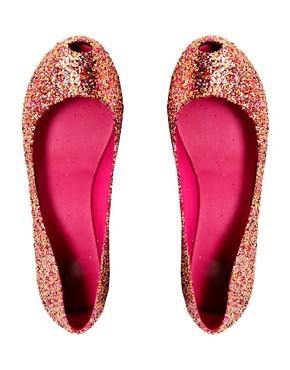 Image 3 ofMelissa Ultragirl Glitter II Ballet Flats