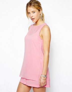 ASOS Layered Cami Playsuit