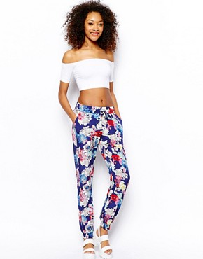 Image 1 ofVero Moda Floral Trousers