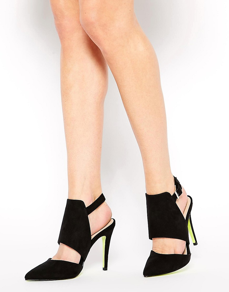 Image 1 of Carvela Gerald Cut Out Heeled Shoes