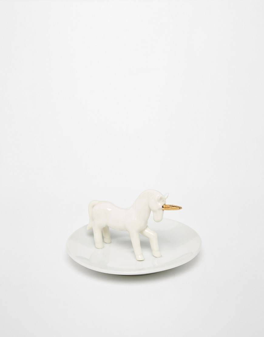 Image 1 ofSmall Unicorn Jewellery Dish cheap gift ideas for teen girls