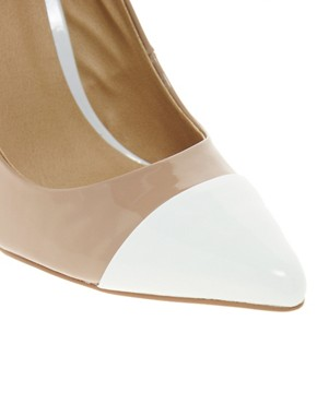 Image 2 of ASOS PROXY Pointed High Heels with Toe Cap