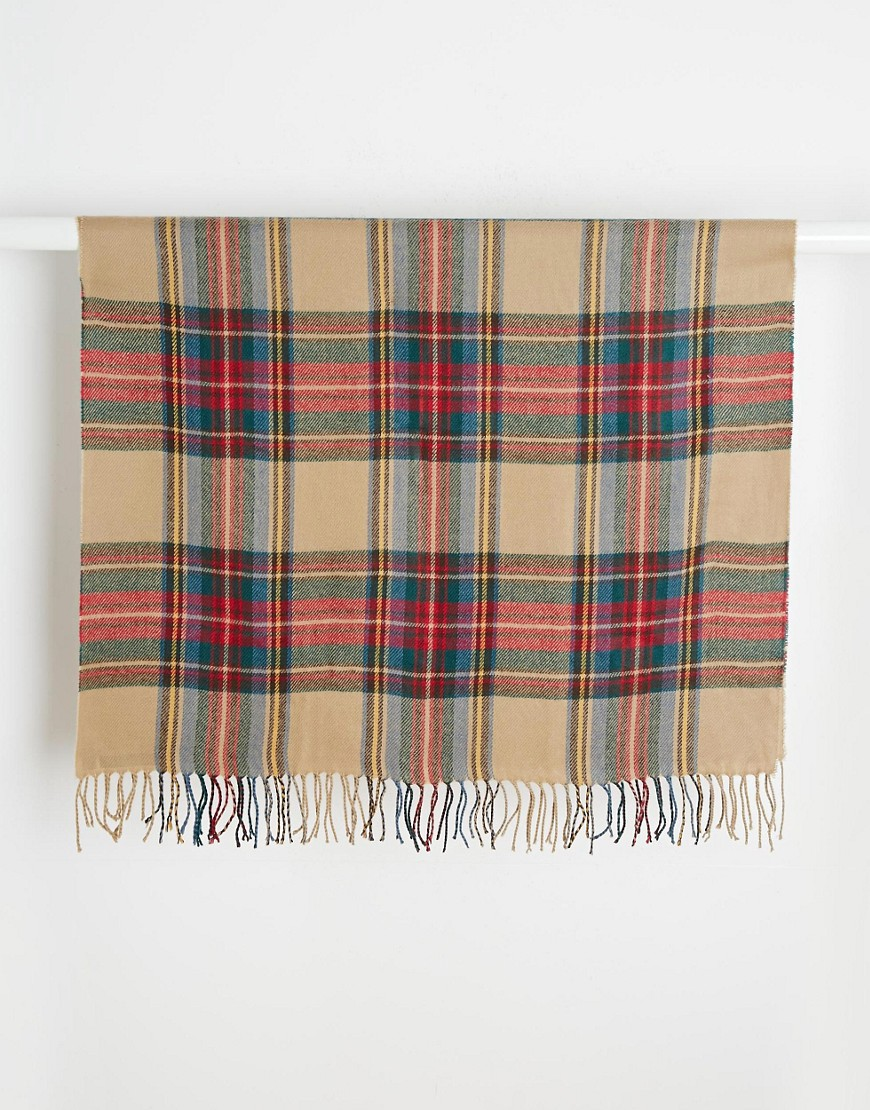 Image 3 of ASOS Check Blanket Scarf