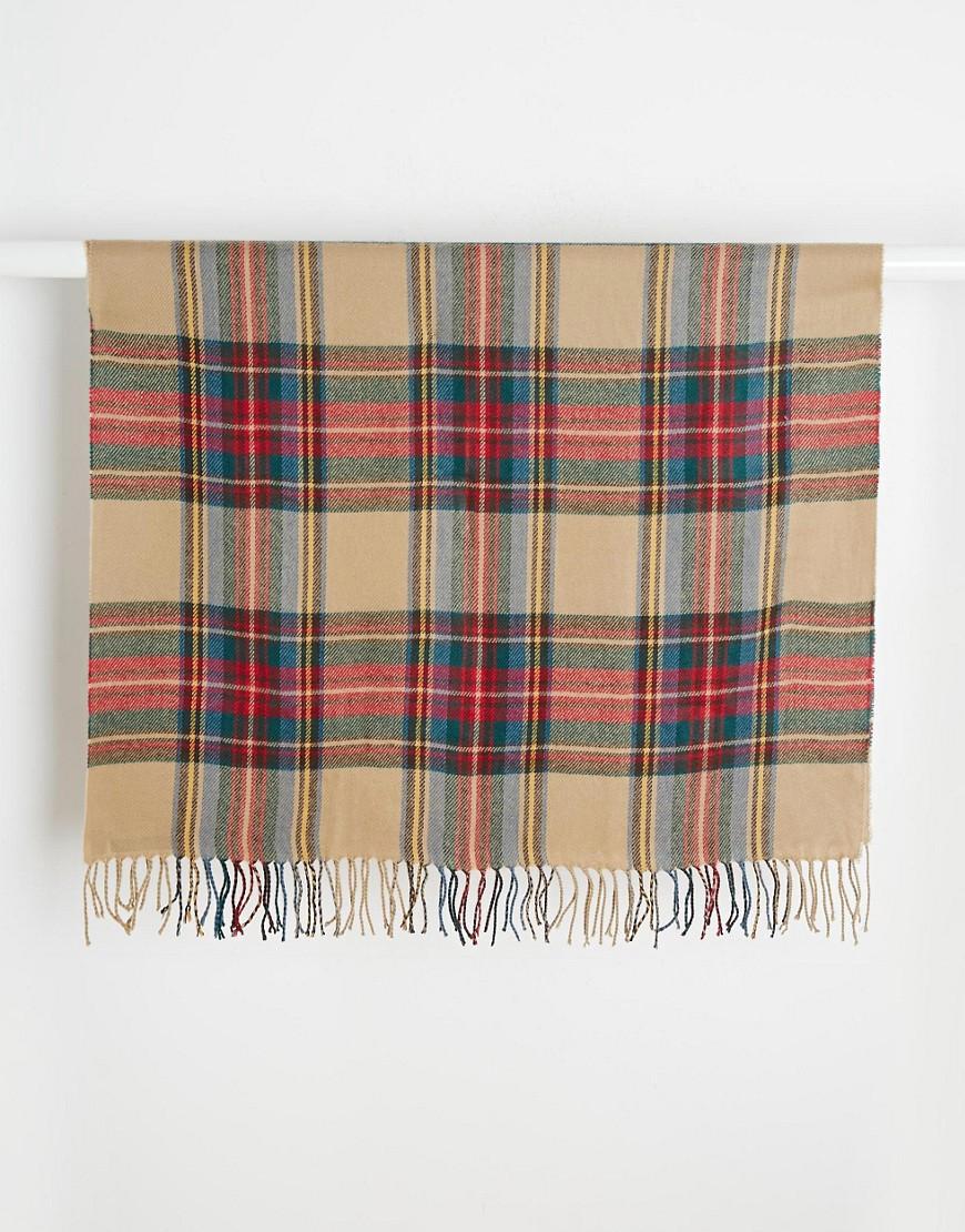 Image 3 ofASOS Check Blanket Scarf