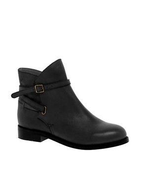 Image 1 of ASOS ALTITUDE Leather Jodhpur Ankle Boots