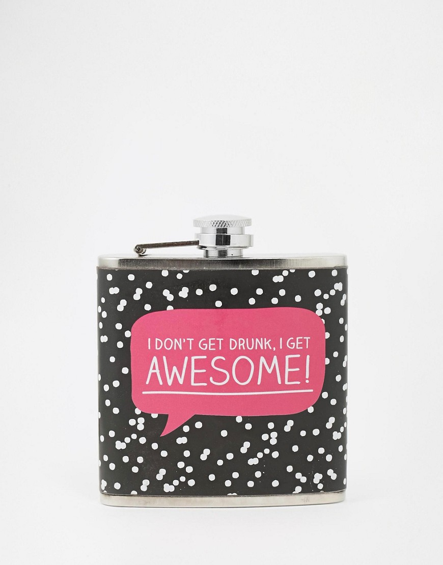 Imagen 1 de Petaca estampada Awesome de Happy Jackson