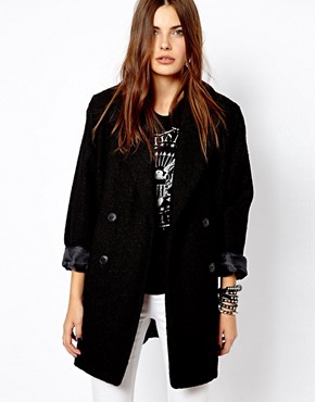 Mango Oversize Car Coat