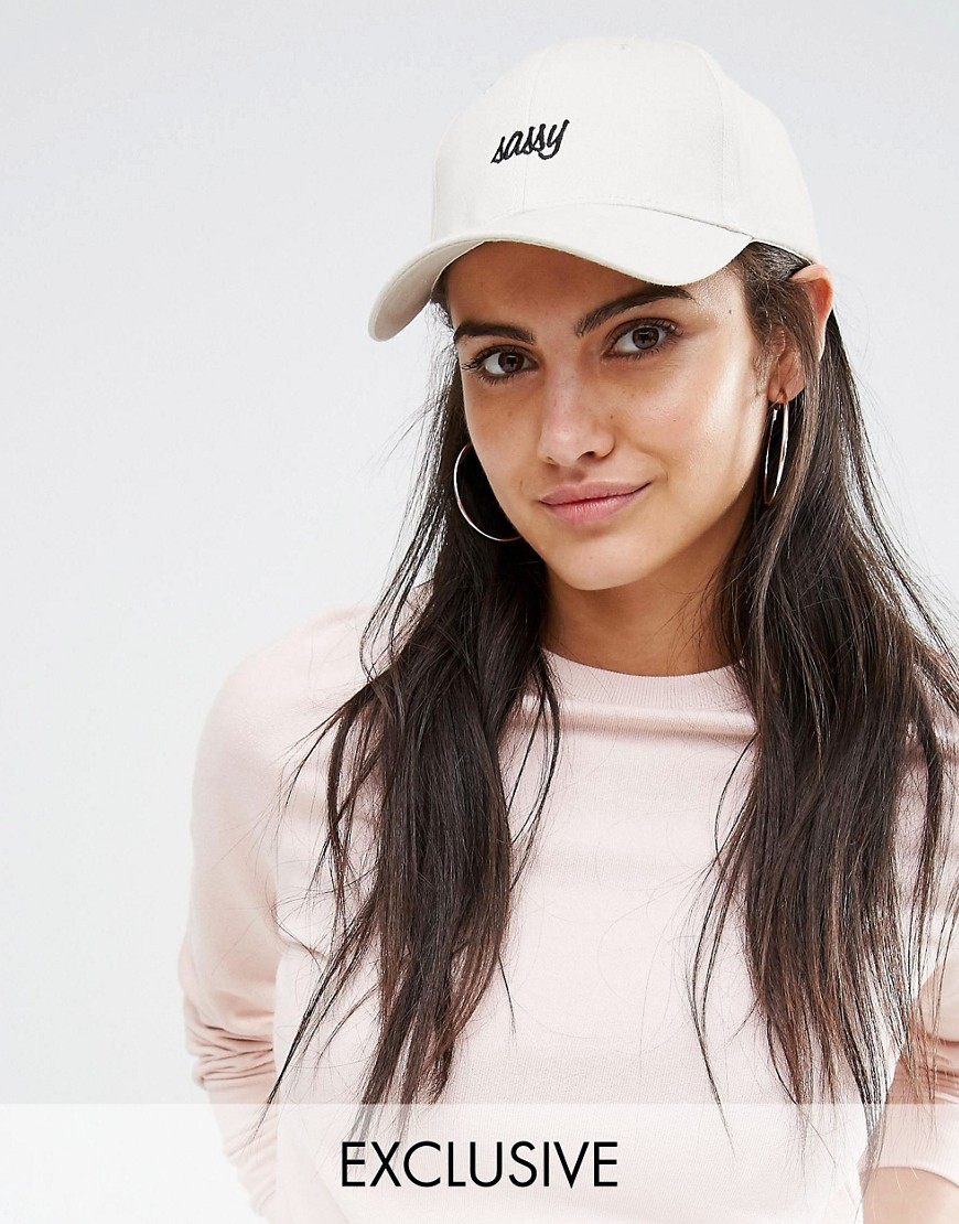 Image 1 - Adolescent Clothing - Casquette de baseball brodée Sassy