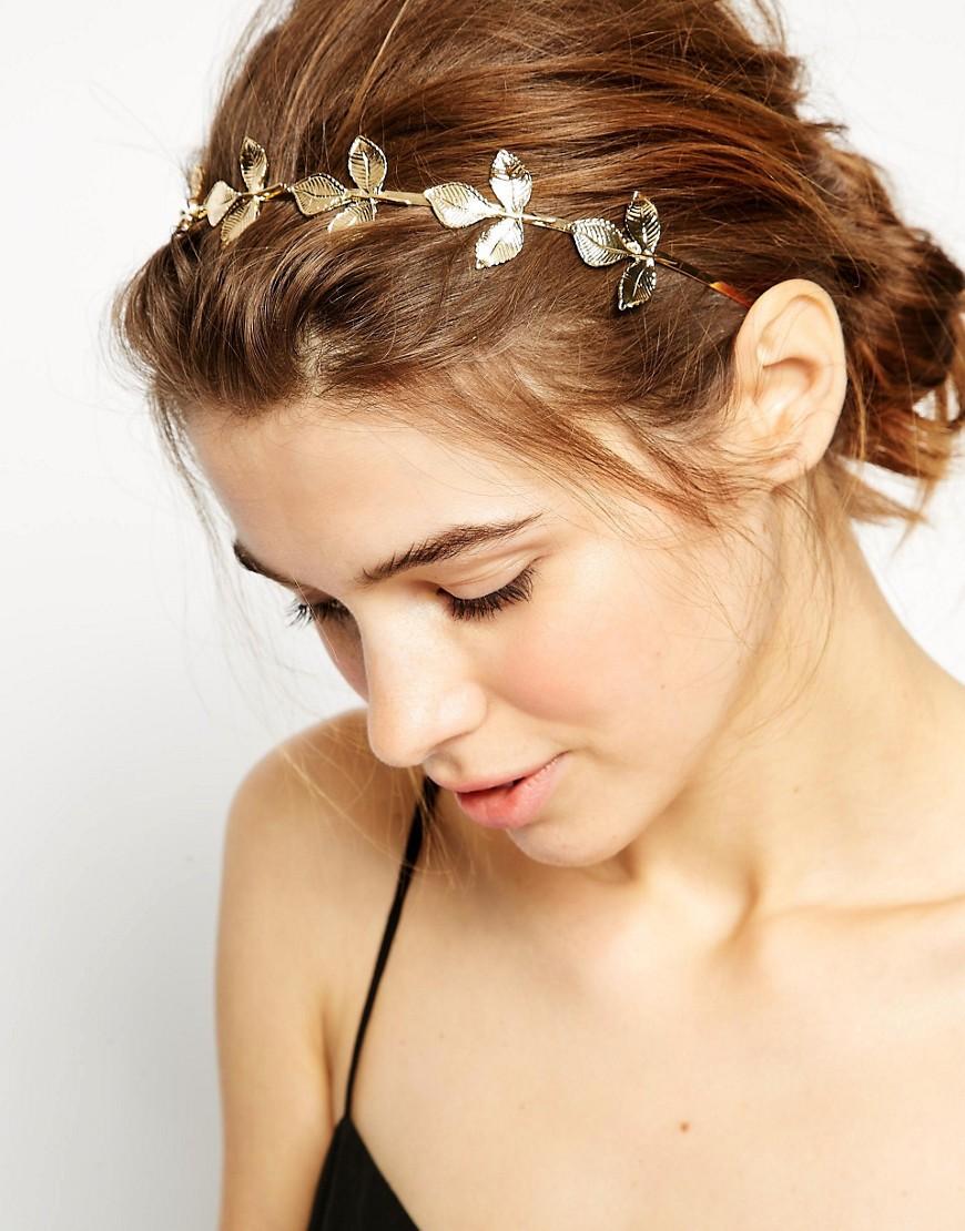 Image 1 ofASOS Leaf Headband