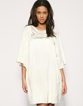 Mango Embroidered Smock