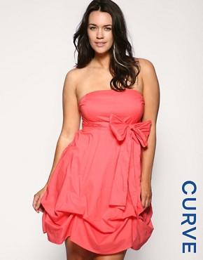 ASOS CURVE Cotton Hitch Dress