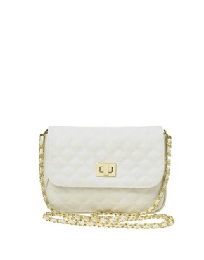 ASOS Quilted Lock Across Body Bag