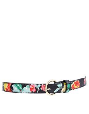ASOS Floral Print Waist Belt