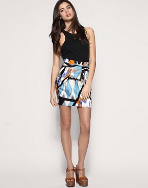 ASOS Printed Tulip Skirt