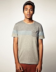 ASOS Crew Neck T-Shirt With Cut And Sew Panels