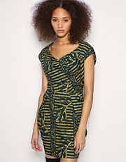 ASOS AFRICA Cowl Neck Dress
