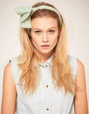 ASOS Mint Knot Headband