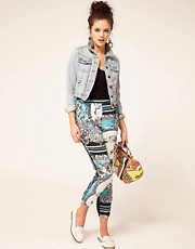 River Island Scarf Printed Trouser