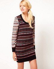 YMC Fairisle Knitted Dress