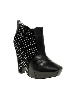 Image 1 ofSam Edelman Zoyla Stud Detail Wedge Ankle Boots