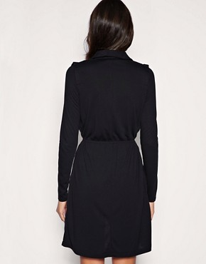 Image 2 of Vero Moda Low V Wrap Dress