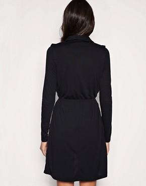 Image 2 ofVero Moda Low V Wrap Dress