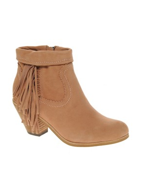 Image 1 of Sam Edelman Louie Fringed Ankle Boot