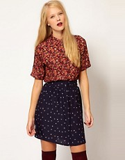 Sessun Eton College Floral Silk Blouse