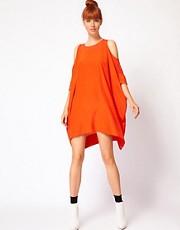 Richard Nicoll Stella T-Shirt Dress with Cut Out