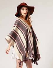 ASOS Knitted Festival Poncho